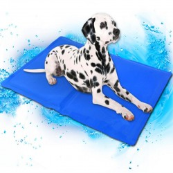 Chladiaca podložka pre psa - modrá (30x40cm)