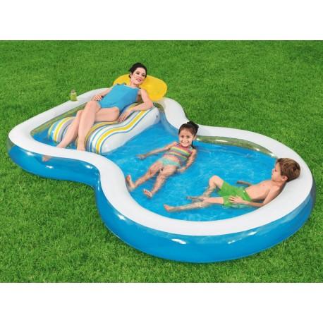 54168 BESTWAY Nafukovací bazén so sedačkou 279x234cm - Bestway