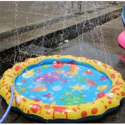 Okrúhly bazénik s fontánou pre deti - 100cm