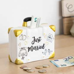 Pokladnička kufor Just Married