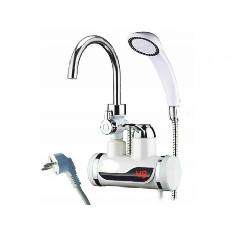 2222 DR Elektrický prietokový ohrievač so sprchou a LCD displejom