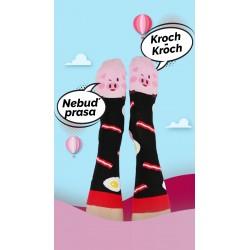 Veselé ponožky HESTY - Prasiatko