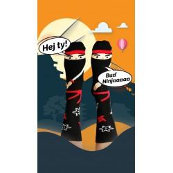 Veselé ponožky HESTY - Ninja