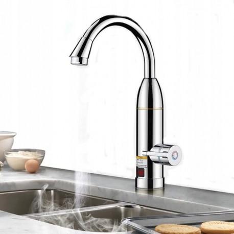 5555 Chrómový elektrický prietokový ohrievač vody 3KW