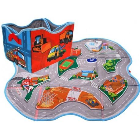 ZA1675 DR Box na hračky + podložka na hranie (2v1)