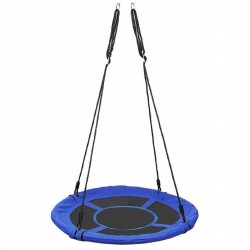 Kruhová hojdačka 100 cm modrá