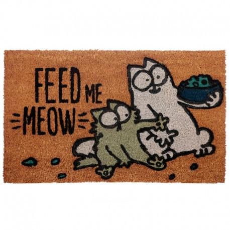 757655 Rohožka Simonova mačka - FEED ME MEOW