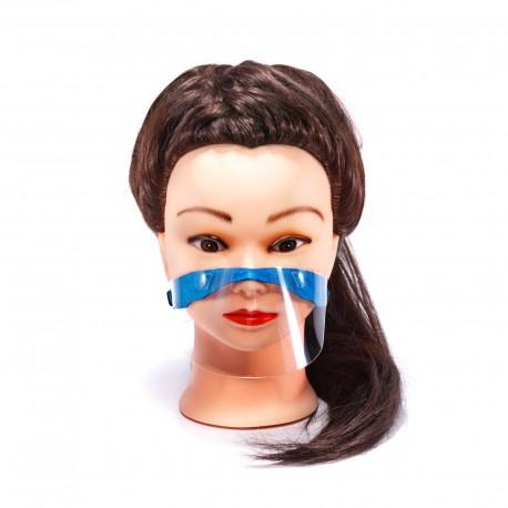 6203_1 DR Ochranný štít na ústa a nos pre deti Modrá