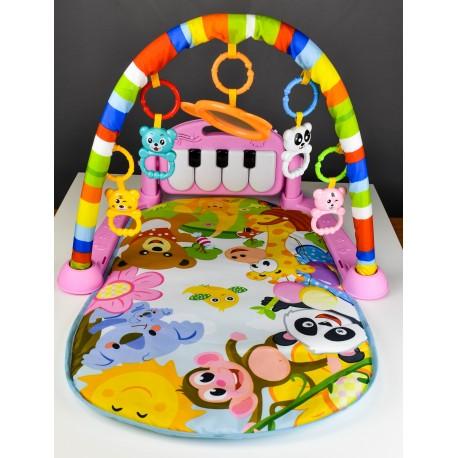 Detská hracia deka 3v1 - rozprávkový svet
