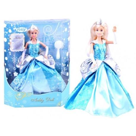 ZA2460 DR Bábika ľadová kráľovná