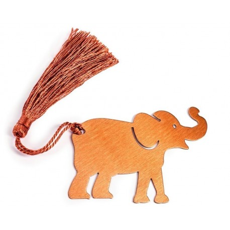 Záložka do kníh - šťastný slon