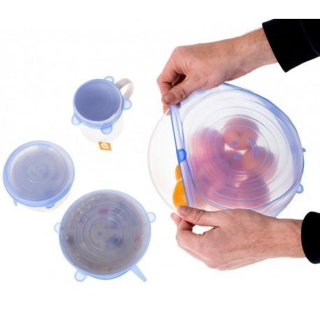 Silikonové viečka na nádoby