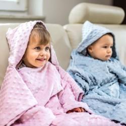 Detská deka s rukávmi