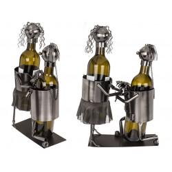 Kovový stojan na víno - Vezmeš si ma ?