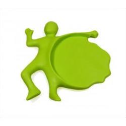 Podtácka zelená 12x7 cm