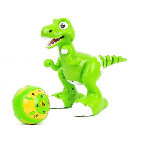 0502 Dinosaurus na diaľkové ovládanie - zelený