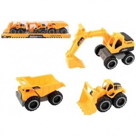 6381 Stavebné stroje - 3ks