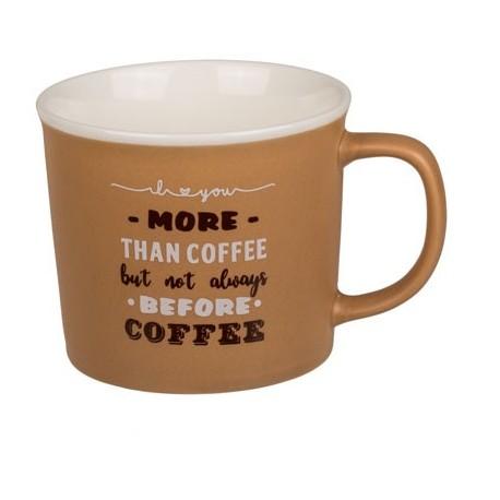 78-8351 Hrnček na kávu - 350 ml Hnedá
