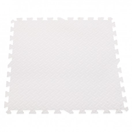 EVA Penové puzzle na zem 60x60 - 4ks Biela
