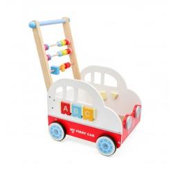 Drevený vozík - MY FIRST CAR