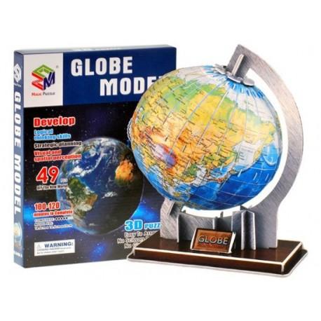 0936 3D puzzle GLOBUS - 49 prvkov