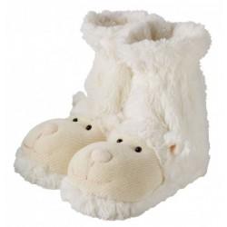 Ponožkové papuče ovečky