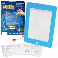 Svietiacá tabuľka na kreslenie Magic Pad