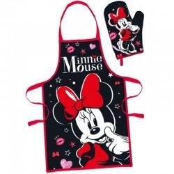 Detská súprava na varenie Minnie Mouse červená