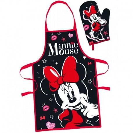 DR Detská súprava na varenie Minnie Mouse červená
