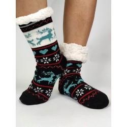 Termo dámske protišmykové ponožky - korčule 08