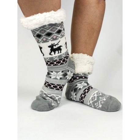 Termo dámske protišmykové ponožky - korčule 11