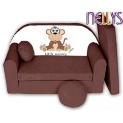 Rozkladacia detská pohovka Little Monkey Nellys