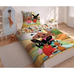 Bavlnené posteľné obliečky Bing 02