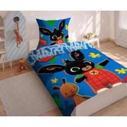 Bavlnené posteľné obliečky Bing 03