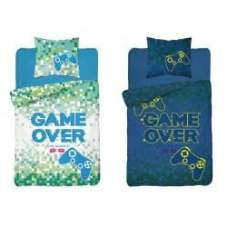Bavlnené obliečky Game over