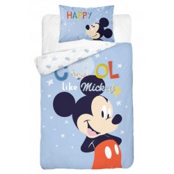 Bavlnené detské obliečky Mickey Mouse