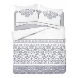 Bavlenené posteľné obliečky 200x220 Kurpie