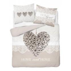 Bavlnené posteľné obliečky Home my Sweet 3339 A