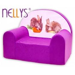 Nellys Detské kresielko - Zajačikovia