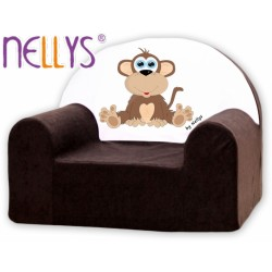 Nellys Detské kresielko - Opička