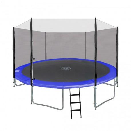 Trampolína 366 cm + ochranná sieť + rebrík
