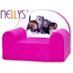 Nellys Detské kresielko - Mačičky