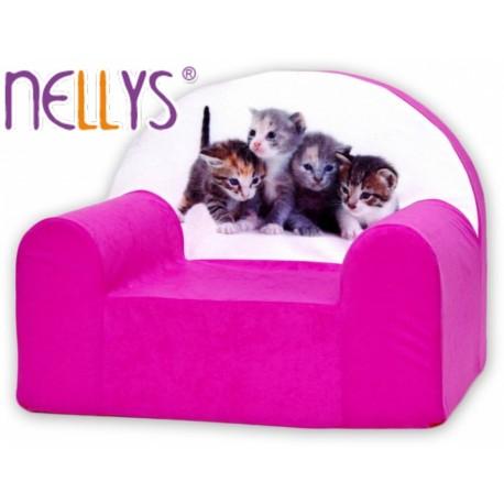 Detské kresielko - Mačičky