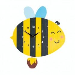 Detské hodiny včielka