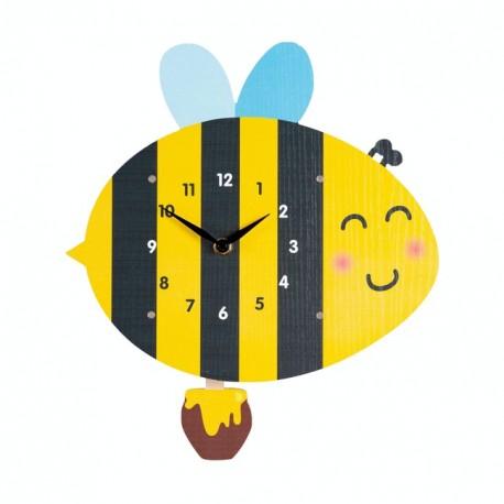 79-3286 Detské hodiny včielka
