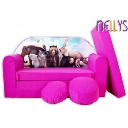 Nellys Rozkladacia detská pohovka 45R