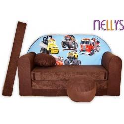 Nellys Rozkladacia detská pohovka 47R