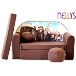 Nellys Rozkladacia detská pohovka 48R