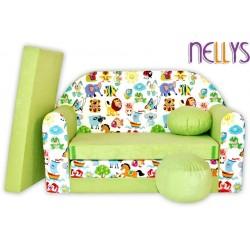 Nellys Rozkladacia detská pohovka 49R