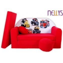 Nellys Rozkladacia detská pohovka 50R